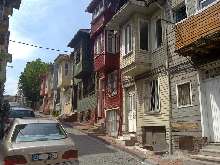 Istanbul Edirnekapi Old Istanbul Houses
