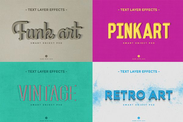 Free Download : 10 Text Effects + 50 Light Leaks Effects