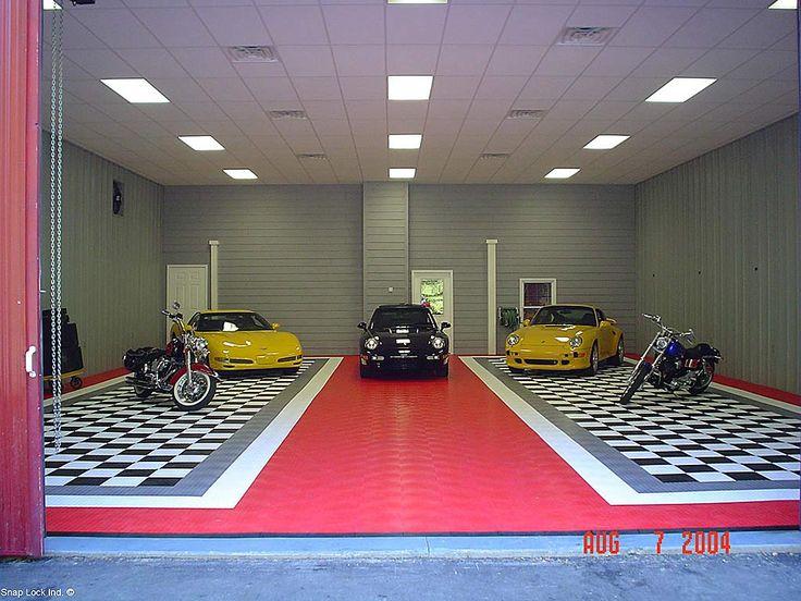 Garage Floors Garage Gallery Garage Design Garage Floor Tiles Garage Flooring Options