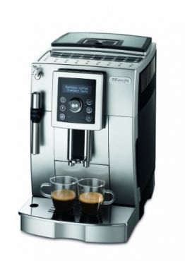 DeLonghi ECAM 23.420.SB Kaffee-Vollautomat Cappuccino (1,8 Liter, Dampfdüse) silber/schwarz -