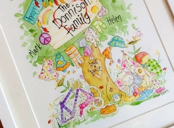 My Tiny Gallery by Emma Vallis - Family Tree - The Donnison Family