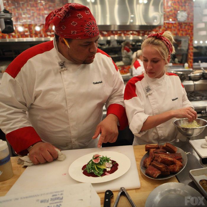 Anthony S Elimination Hell S Kitchen