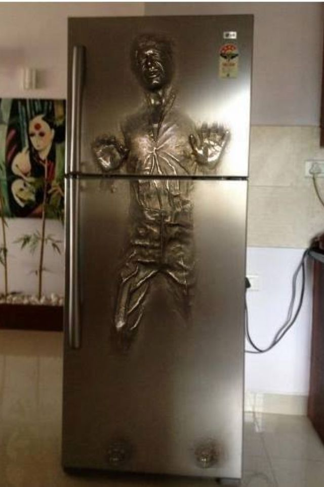 Star Wars fridge - EU QUEEEEROOOOOO