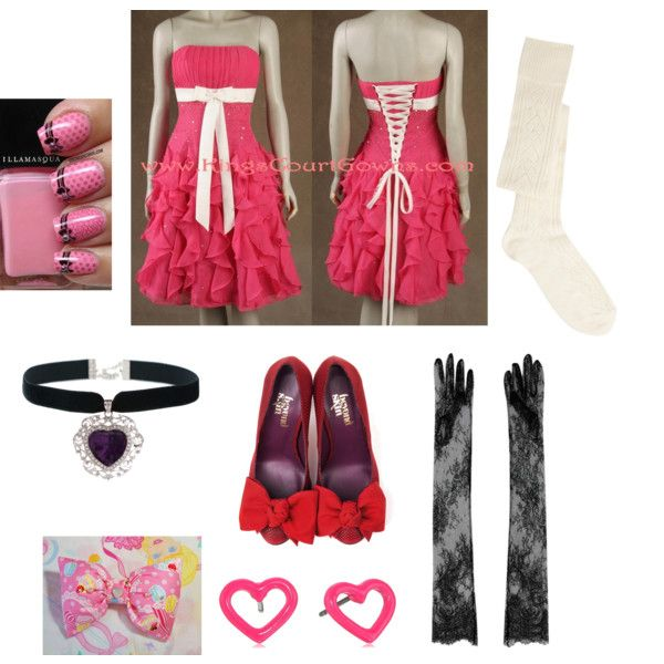My prom night outfit by pinkmitta on Polyvore featuring polyvore fashion style ASOS Merida Marc by Marc Jacobs N°21