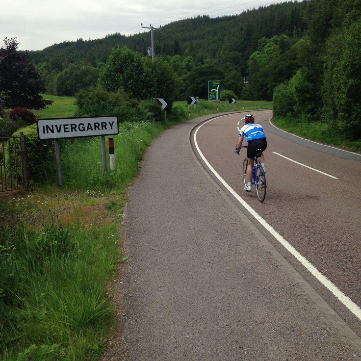 Leaving Invergarry