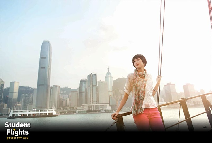 Student Flights | Discover Hong Kong | Images are courtesy of Hong Kong Tourism Board