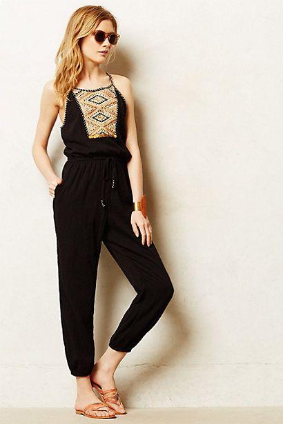 Digging classy pants jumpsuits!  Tenaya Jumpsuit #anthropologie