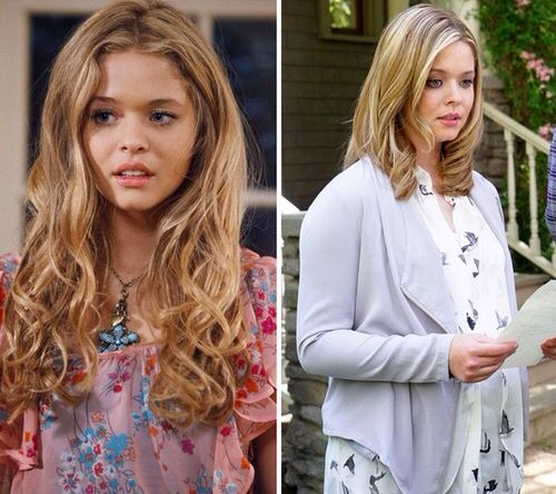Alison from season 1 to 6