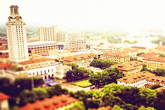 Great view of the Main Tower and the Forty Acres, UT Austin #utaustin