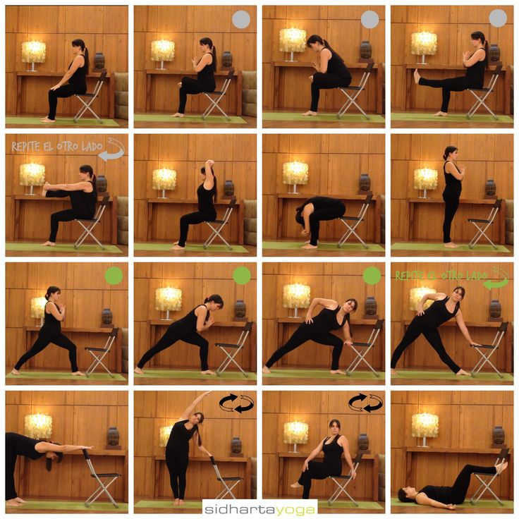 31 best yoga for seniors images on pinterest chairs for Chaise yoga iyengar