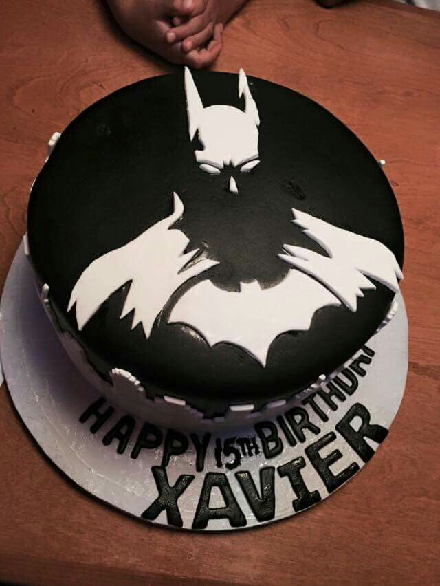 Best Parties Holiday Cakes Images On Pinterest Biscuits - Dark knight birthday cake