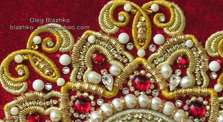 goldwork. hand embroidery | by Blazhko's gold embroidery