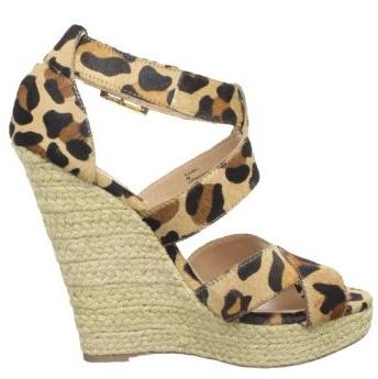 Steve Madden Kloudd leopard print espadrille - a fun way to wear leopard in the summertime! at Endless.com