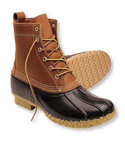 """#LLBean: Men's Bean Boots by L.L.Bean®, 8"""""""
