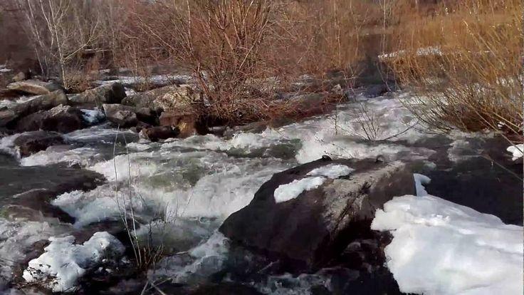 Весеннее пробуждение реки