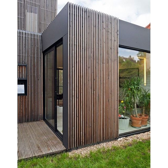 Exterior timber cladding.. By a + samuels delmas - 13 #exterior #external