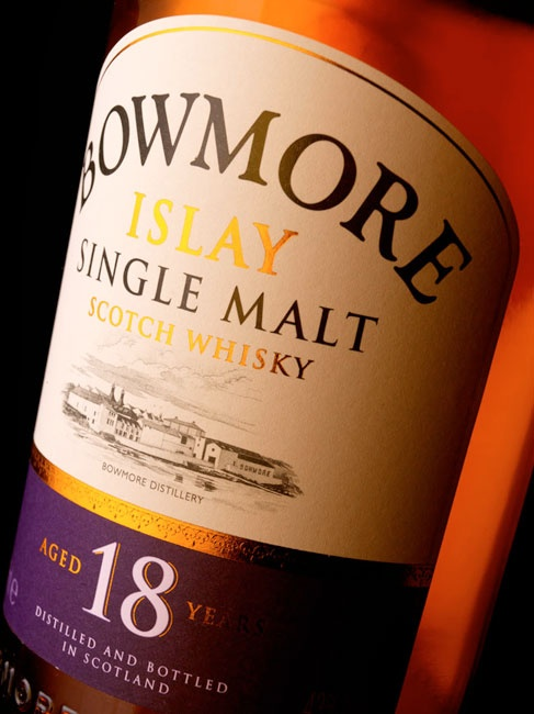 Bowmore 18 Years Old.  My newest addition to my collection
