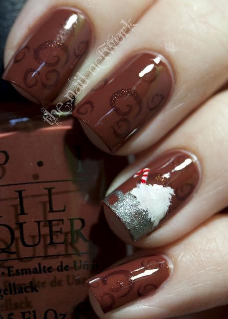 Hot Chocolate Nails