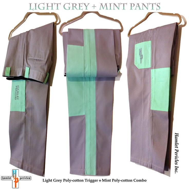 Light Grey + Mint Pants created by Hamlet Pericles via hamlet Pericles, Inc.   #HamletPericlesFashion #Fashion #FashionDesigner #FashionStyle #Pants #Tailor #Designer #StreetFashion #StreetStyle #Streetwear #Urbanwear #Sew #Sewing #iLoveSewing #MensFashion #Menswear #MenStyle #FashionLover #SewingProject #MyDesign #Dapper #DapperlyDone #SimplyDapper #Style #Stylish #Embroidery #OneOfAKind #Grey #Gray #Mint #Clothes #Hamlet #Pericles