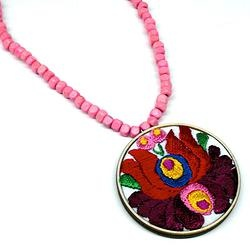 MATYO-hand embroidered jewellery  by Andrea Macsar http://www.h-art.com.au/#!necklaces/c1y06