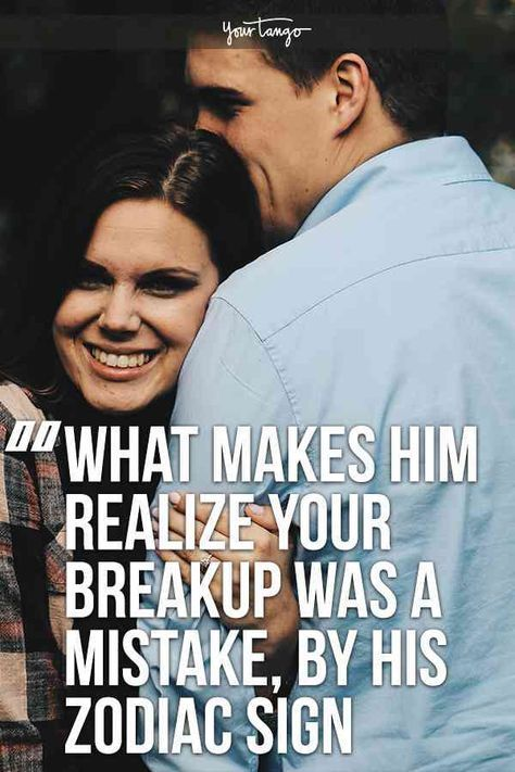 What Makes Him Miss You After A Breakup, According To His