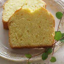 オリーブオイルのふんわりパウンドケーキ
