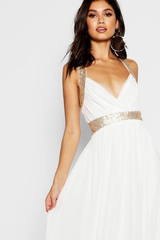 678c4b0c7066 Boutique Sequin Panel Mesh Maxi Dress   Ignite Xmas Dress Inspo ...