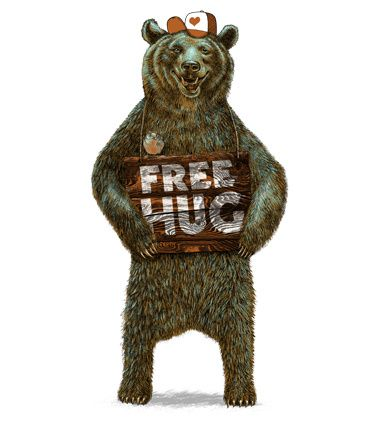 Free Hug #illustration #tshirt