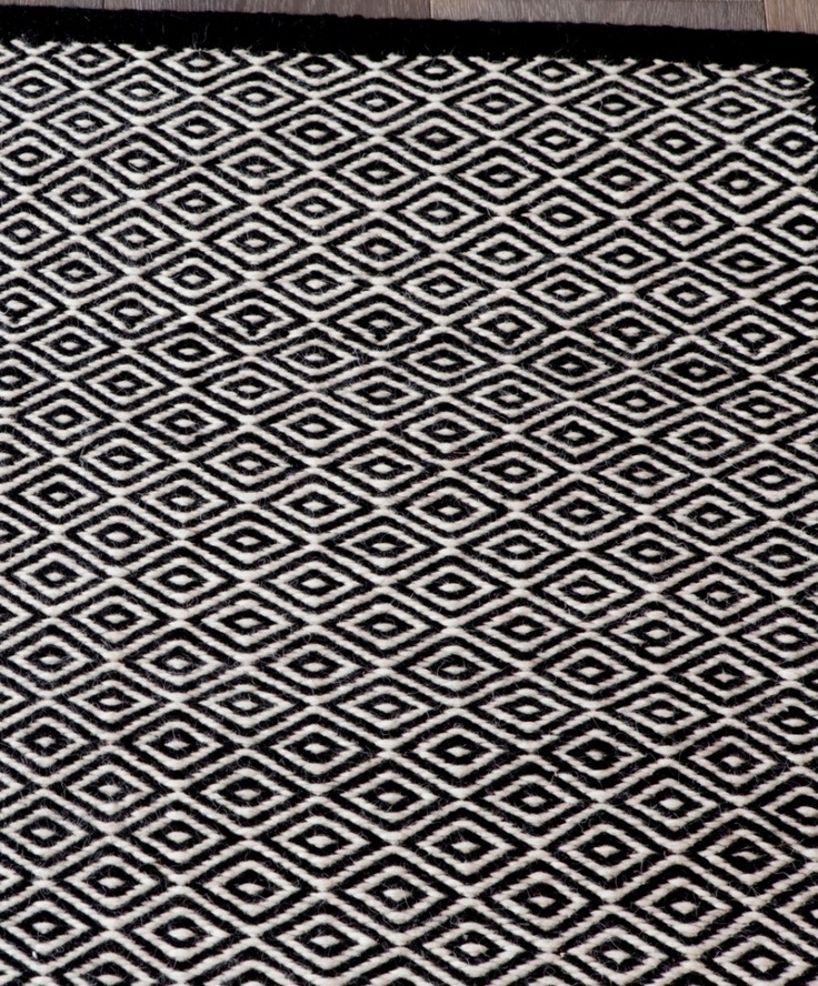 Masai Weave in White/Black | Armadillo: http://armadillo-co.com/item-category/rugs/