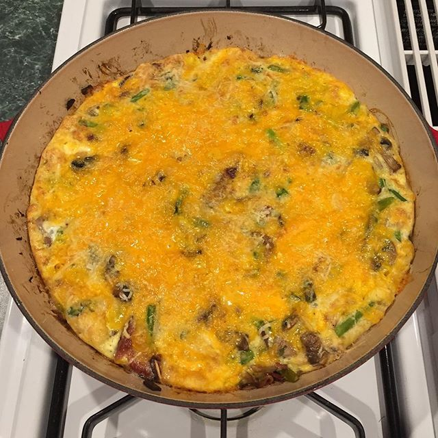 Asparagus, cheddar and PVF bacon frittata for Good Friday brunch. #eatlocal #pineviewfarms #longweekend (scheduled via http://www.tailwindapp.com?utm_source=pinterest&utm_medium=twpin&utm_content=post180803541&utm_campaign=scheduler_attribution)