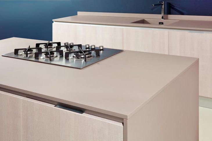 "Quartzforms kitchen - ""qf beige"" quartz"