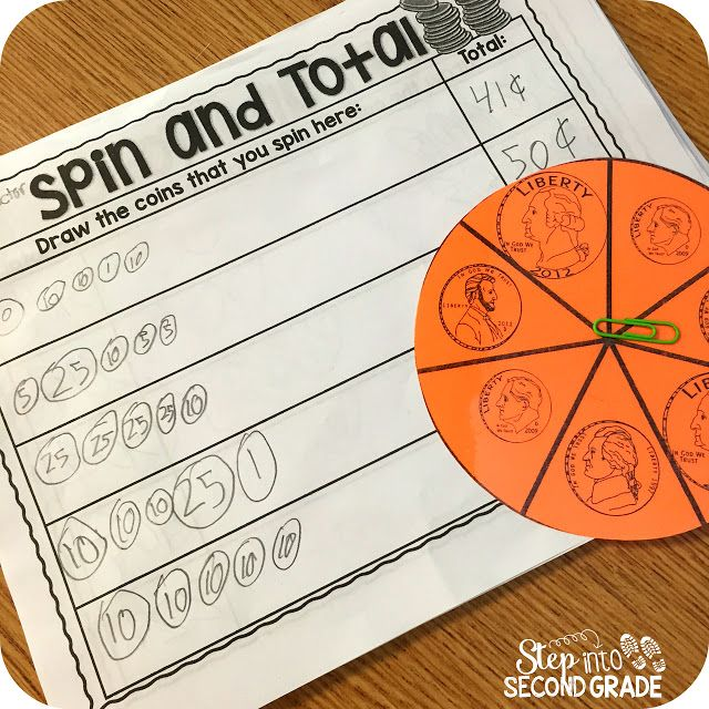 Counting Coins:  Spin and Count