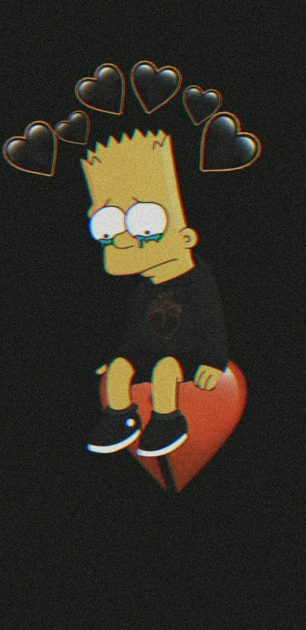 iPhone wallpaper & Android wallpaper in 2020 Simpson