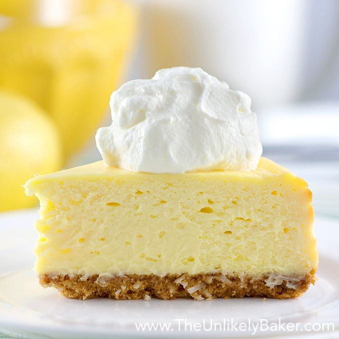 The Best Lemon Cheesecake. Ever.
