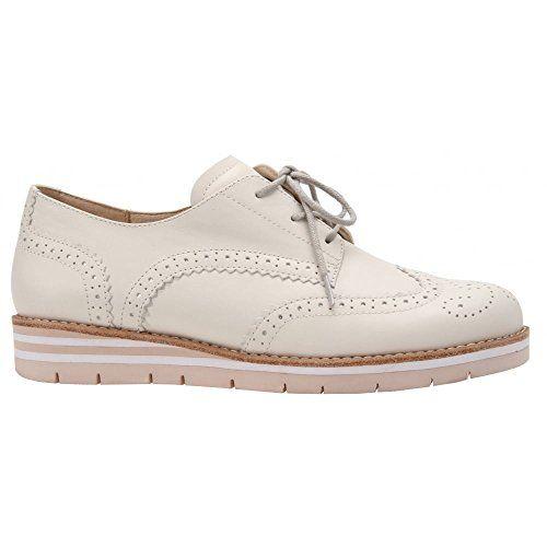 Gabor Shoes 42.558 Damen Derby Schnürhalbschuhe ,Beige (82 sahne (S.apricot)) ,38.5 EU - http://on-line-kaufen.de/gabor/38-5-eu-gabor-damen-derby