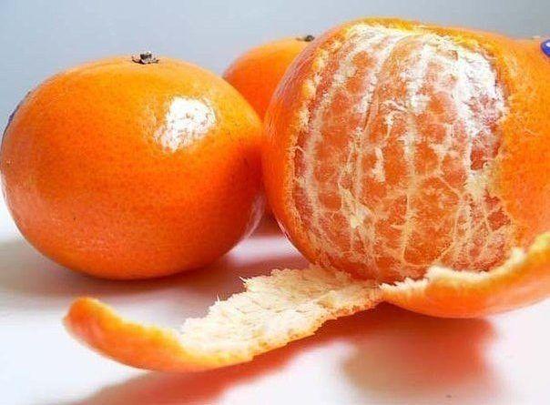 В кожуре мандарина — огромная сила!