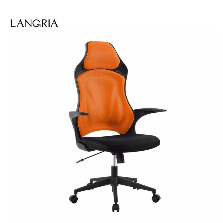 Marka Gaming Ergonomiczna Wysokiej-Back Office Oczek Wykonawczy LANGRIA Komputer Krzesło Krzesło Do Użytku Domowego Biura 360 Stopni Obrotowy