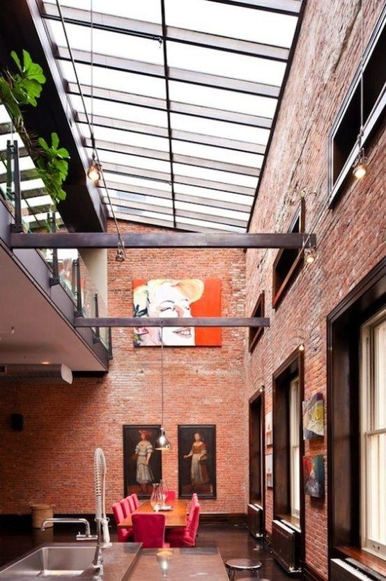 Loft exposed brick 157 c quynh tvan pinterest for Raumgestaltung einzelhandel