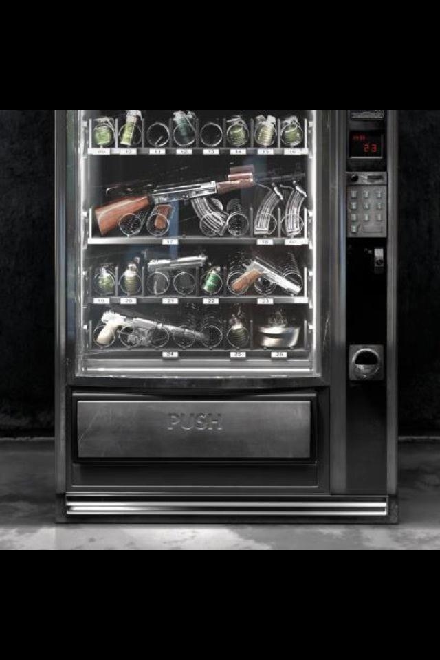 Gun Vending Machine