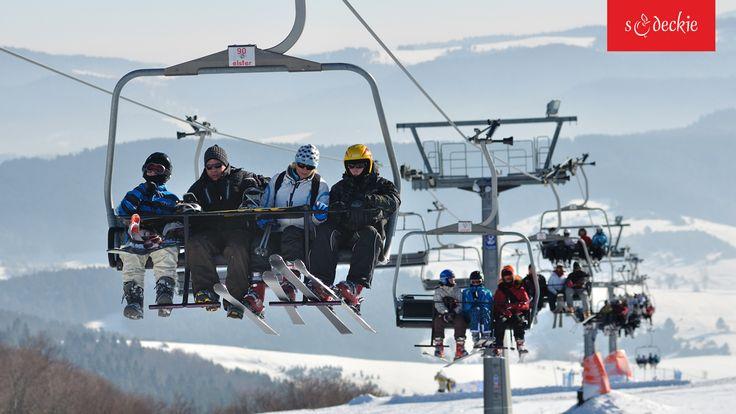 Stacja Narciarska Dwie Doliny Muszyna – Wierchomla to jedna z największych rodzinnych stacji narciarskich w Polsce. Zlokalizowana jest na stokach Pustej Wielkiej (1062 m), fot. A. Klimkowski