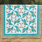 Pattern~Stellar Splendor~Half Square Triangles Made Easy~Cozy Quilt Designs