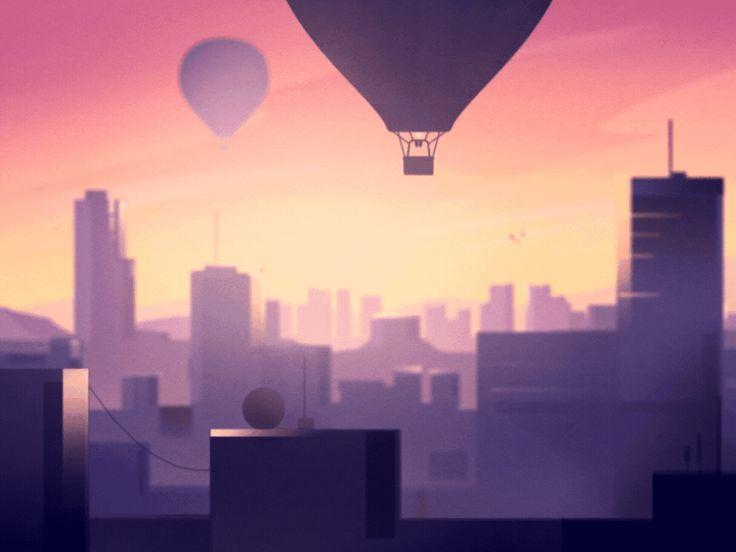 Aeronaut - iOS Game by Guile Gaspar - Dribbble
