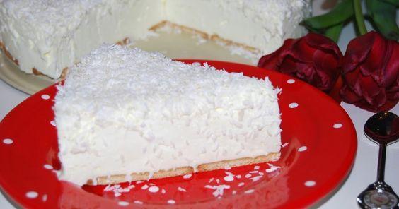 """Śnieżny puch to ciasto  bez pieczenia. Bardzo szybkie w przygotowaniu, łatwe,delikatne, """"niebo w gębie"""". Jeśli jesteście miłośnikami kokos..."""