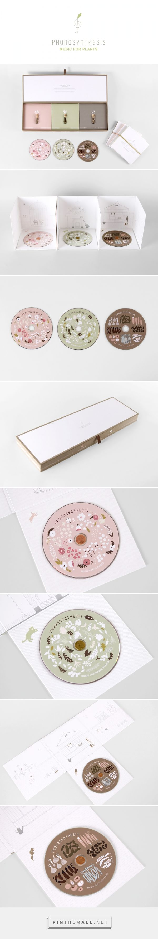 Phonosynthesis by Mirim Seo curated by packaging Diva PD. Clever packaging in this music for plants : )