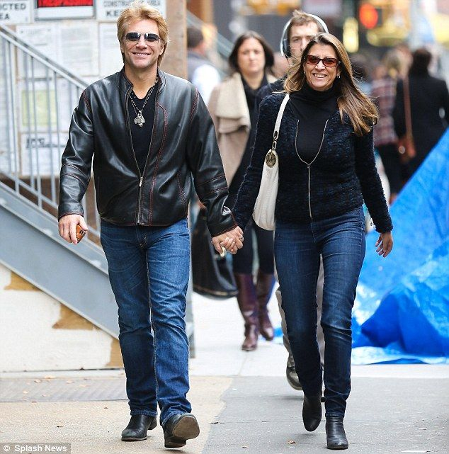 Jon Bon Jovi and his wife Dorothea Hurley