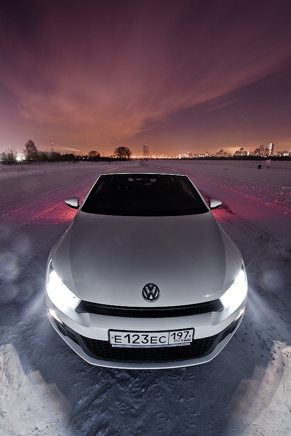 VW Scirocco by Ilia Musaelov, via Behance
