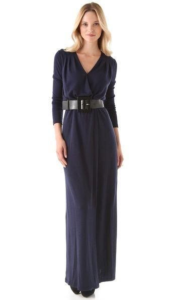 alice + olivia Emmie Maxi Dress with Belt....Love Love Love