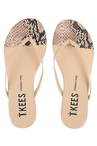 Tkees Womens French Tips Flip Flop Sandals Rattlebone 8 *** Check out this  great