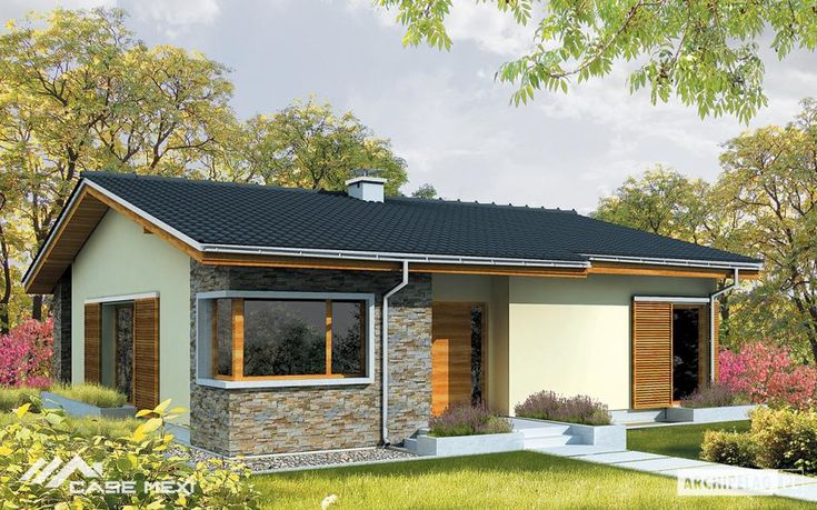 #Bungalow, #modern or for family, built fast in a very short time, at a reasonable price, in a high quality.