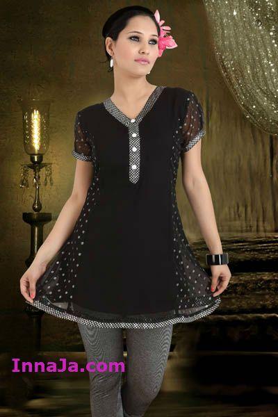 Tuniko suknia szyfonu czarna w srebrne kropki r.38